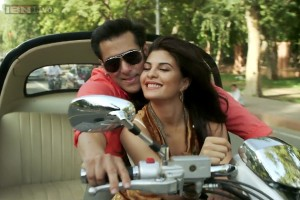 salman with girlfriend jackline  kick07