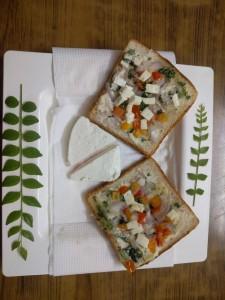 cheeze paneer sandwich